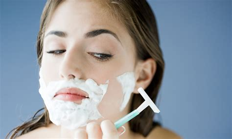 no shaving trend for women why it s a terrible idea for women to shave their faces