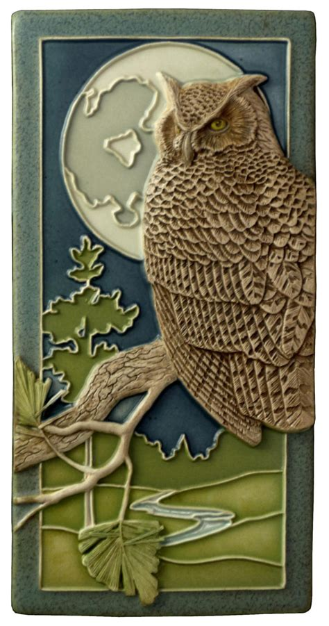 home decor owl sculpted great horned owl 4x8 inches