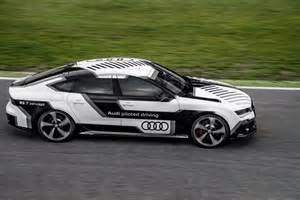 Blind Driving Experience Audi S Autonomous Rs 7 Successfully Laps Hockenheimring At