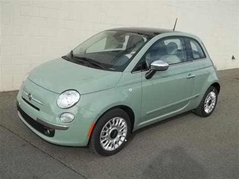 fiat green light green fiat 500 my style cars