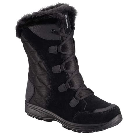 columbia winter boots columbia maiden ii s winter boot black