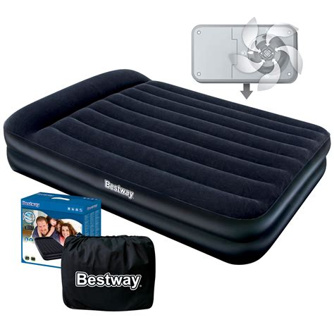 queen size inflatable bed bestway queen size luxury inflatable mattress air bed