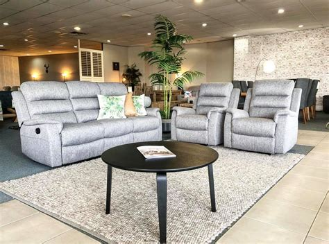 edison lounge suite   recliners rrp home