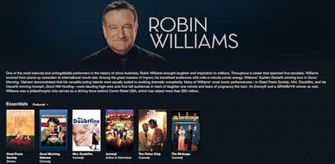film robin williams adalah art z code robin williams dihormati khusus oleh apple