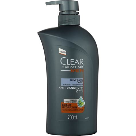 clear scalp hair therapy shoo conditioner complete care 700ml woolworths