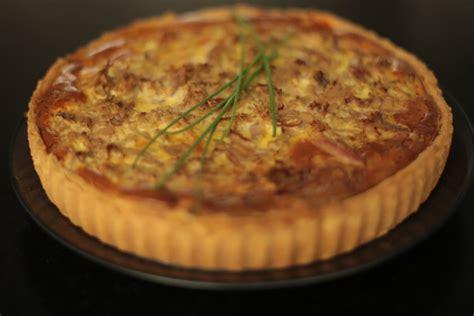 recette herve cuisine recette de la tarte au thon poivron et herbes par herv 233