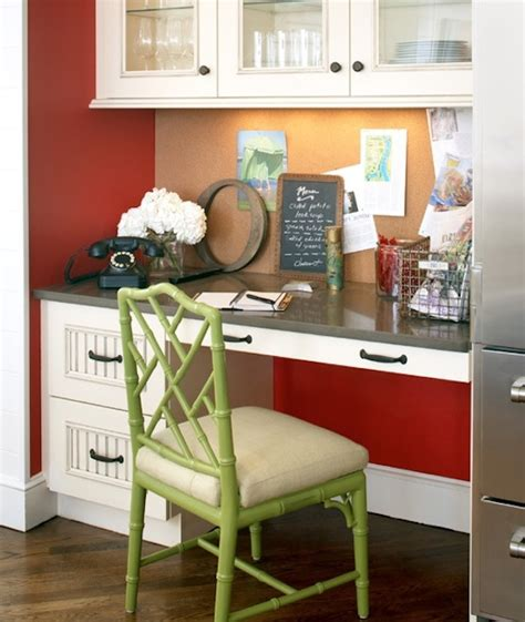 kitchen chair ideas 20 clever ideas to design a functional office in your kitchen