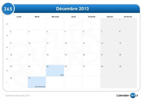 Calendrier 2013 Decembre Calendrier D 233 Cembre 2013