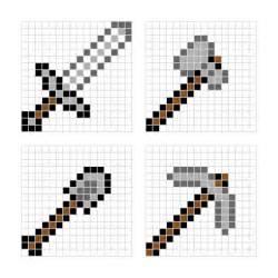 hama bead templates minecraft designs for hama minieco