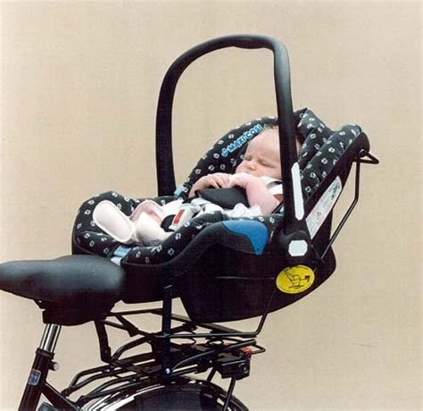 infant seat for bike children at what age stage should my child be at before