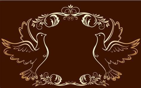 free gold royal floral frame vector 03 titanui
