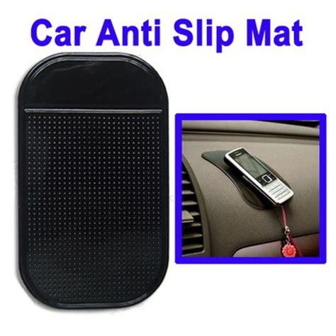 sticky pad anti slip mat mobil black jakartanotebook