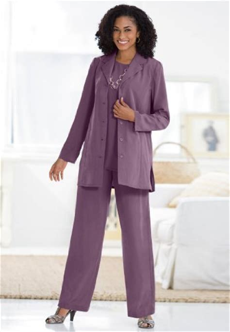 evening pant suits for women over 50 plus size business suits for women over 50 black models