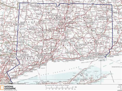 map of ct connecticut state parks map