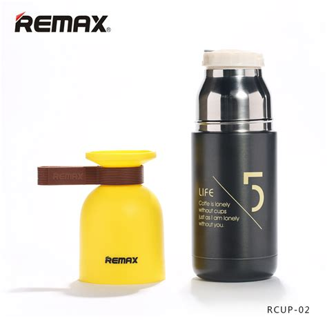 Original Remax Honey Stainless Steel Thermos 300ml Rcup 06 Olb1042 1 remax rcup 02 vacuum insulation cup kettle vacuum flask drinkware 11street malaysia