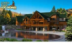 10000 Sq Ft House Plans log homes and log home floor plans cabins by golden eagle