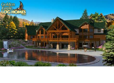 house plans for mansions log homes and log home floor plans cabins by golden eagle