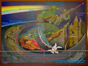 Denver Airport Wall Murals denver airport murals denver colorado denver airport denver