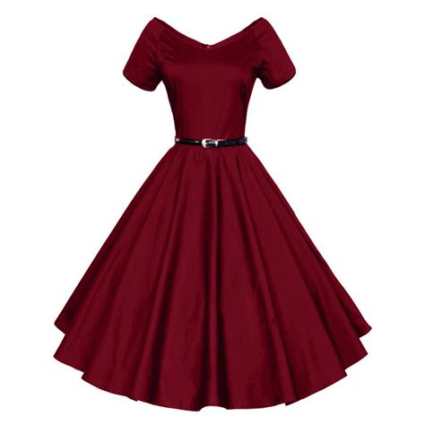 swing style dresses 50s 2016 womens summer sexy v neck party dresses 50s 60s
