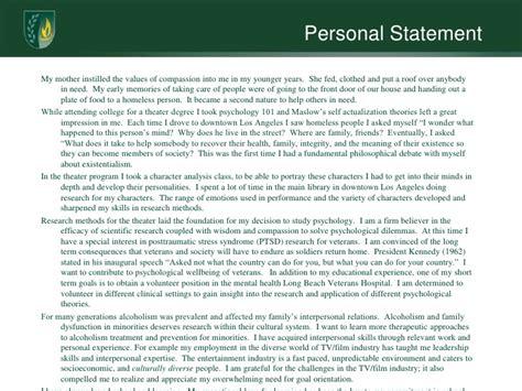 reflective statement etp401 reflective compendium personal statement customer service