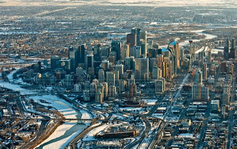 Calgary Search Aerial Photo Calgary Skyline 2017