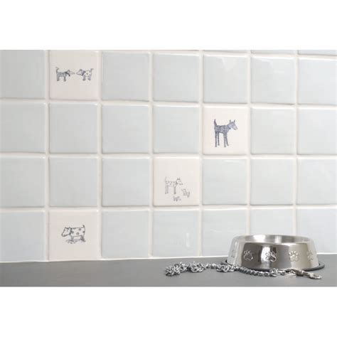 Black And White Bathroom Tile Designs spotty dog off white the winchester tile company
