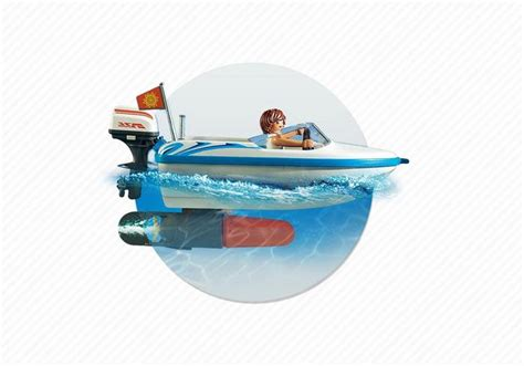 Playmobil Surfer With Speedboat Playmobil Surfer With Speedboat Best Educational
