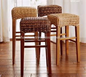 Indoor Wicker Dining Chairs Indoor Interior Wicker Rattan Furniture Dining Set Bar Stool Woven By Wicker Hyacinth