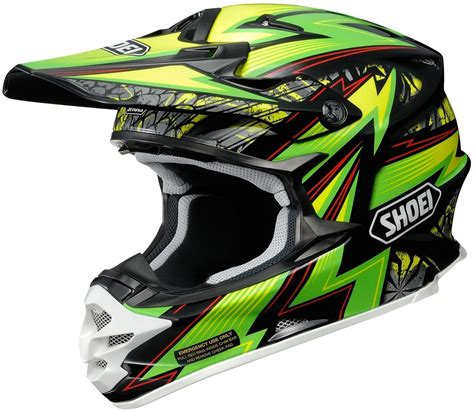 shoei motocross helmets closeout shoei vfx w maelstrom motocross helmet black green shoei