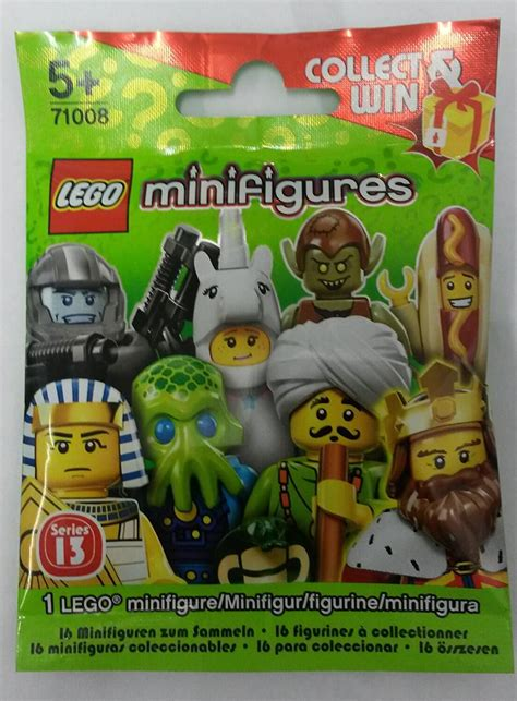 Series 13 Lego Minifigure lego series 13 minifigure hotdog 14 cmf 71008