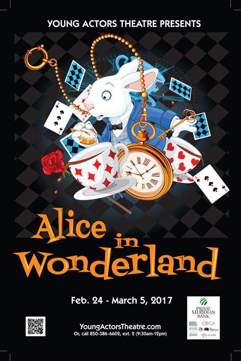 young actors theatre presents alice  wonderland community wtxlcom