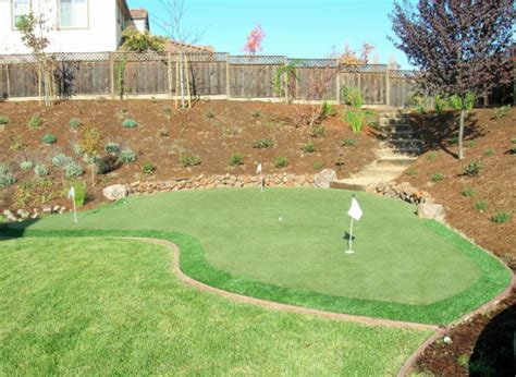 Astro Turf Backyard by Triyae Artificial Grass Backyard Putting Greens