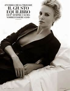 Vanity Fair Magazine 2014 by Charlize Theron Vanity Fair Italy Magazine September 2014