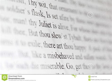 descargar romeo and juliet plain text text of shakespeare drama romeo and juliet stock photo image 24227140