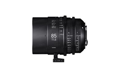 Sigma 24mm T1 5 Ff High Speed Prime Ef Mount sigma ff high speed prime line 85 mm t1 5 ef data