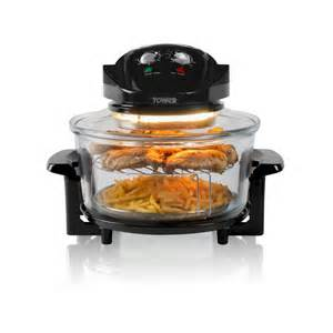 Mini Toasters Tower Housewares Halogen Low Fat Air Fryer
