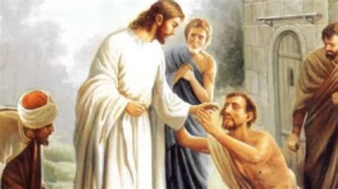 imagenes de jesus sanando evangelio jesus sana a dos ciegos youtube