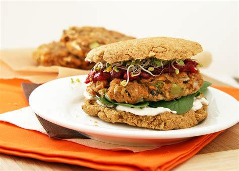 What Is A Garden Burger by Kitchen Sink Veggie Burgers Grain Free Flax Bun