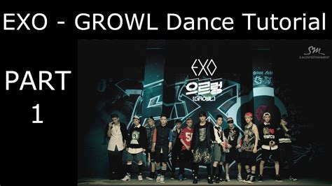 tutorial dance exo kokobop dance tutorial exo growl part 1 mirrored youtube