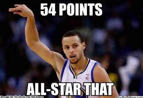 Stephen Curry Memes - sports memes stephen curry gets 54 points meme sports
