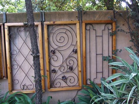 Decorative Security Bars For Windows And Doors 17 Best Images About Decorative Burglar Bars On