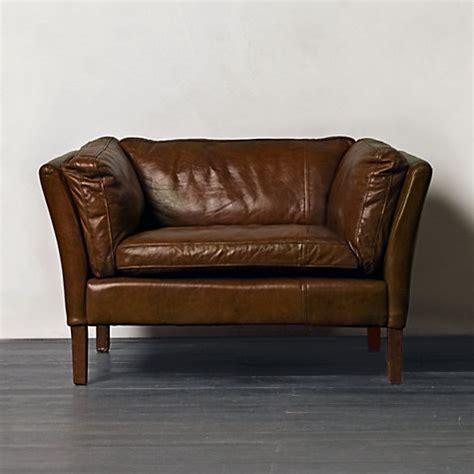 buy leather armchair buy halo groucho aniline leather armchair john lewis