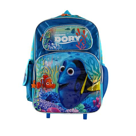 Disney Frozen Trolly Bagpack Large disney finding dory large 16 quot trolley backpack creative