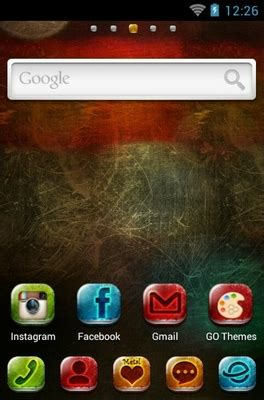 themes android metal metal android theme for go launcher androidlooks com