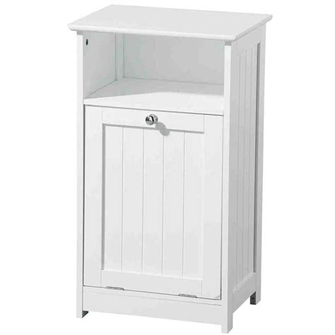 White Bathroom Floor Cabinet Home Furniture Design