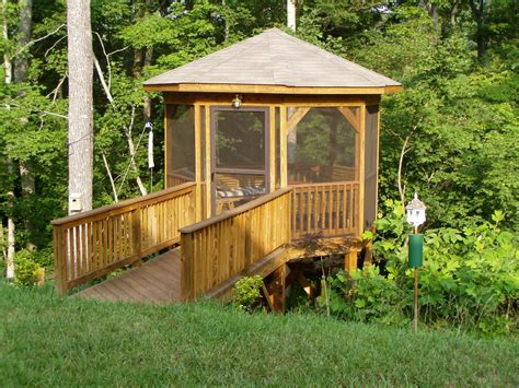 Screened Gazebo Kits Awesome Screened In Gazebo All Home Ideas How To