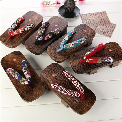 japanese shoes wooden slipper japanese shoes s classical