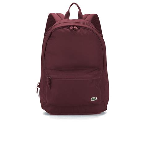 Longch Backpack Fashion Uk S lacoste s backpack burgundy free uk delivery 163 50