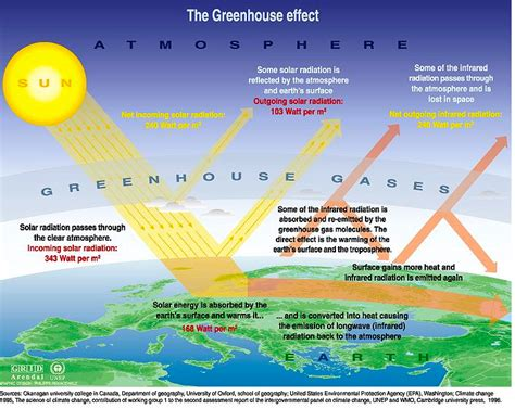 green house effect global warming or climate change what s the difference planetsave