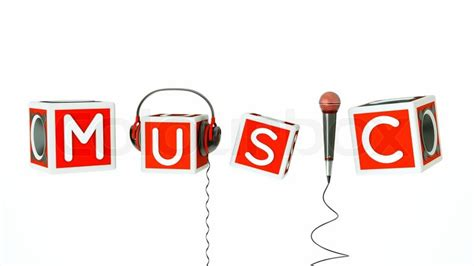 songs with the word a word with microphone headphones a bassboxes as a
